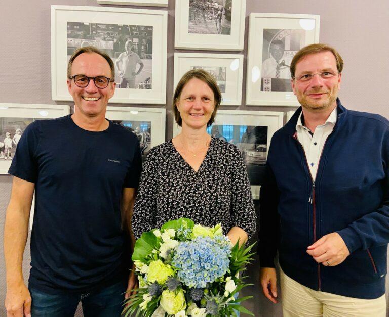 Neue Leitung bei der Tennisabteilung des SV Blau-Weiß Hand