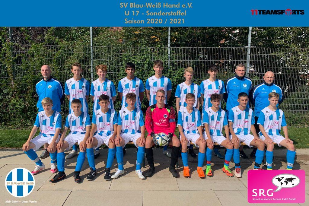 Blau Weiß Hand Sportverein Fußball U17
