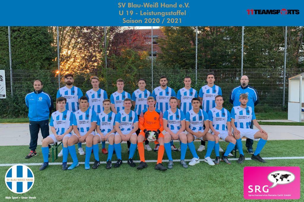 Blau Weiß Hand Sportverein Fußball U19