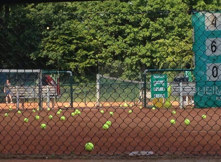 Tennis Training Sommer 2021