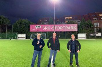 SRG Sportpark LED Flutlicht
