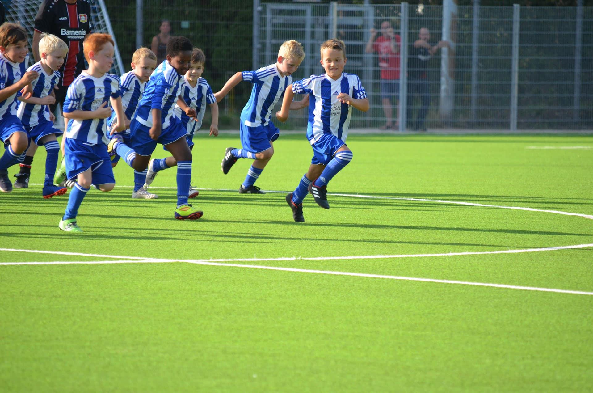 Blau Weiß Hand Sportverein Fußball