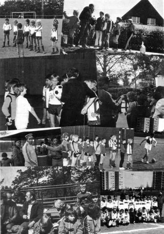 1970 Fußballjugend nach Einweihung Sportplatz