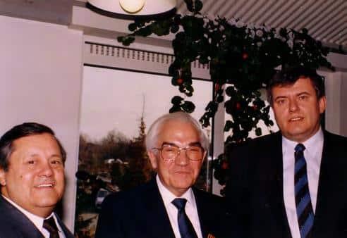 1987 mit verleihung Fred Kötz Willi Kurschildgen