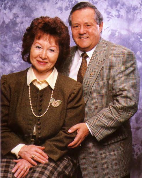 Fred Kötz mit Frau, einer der Gründer von BW