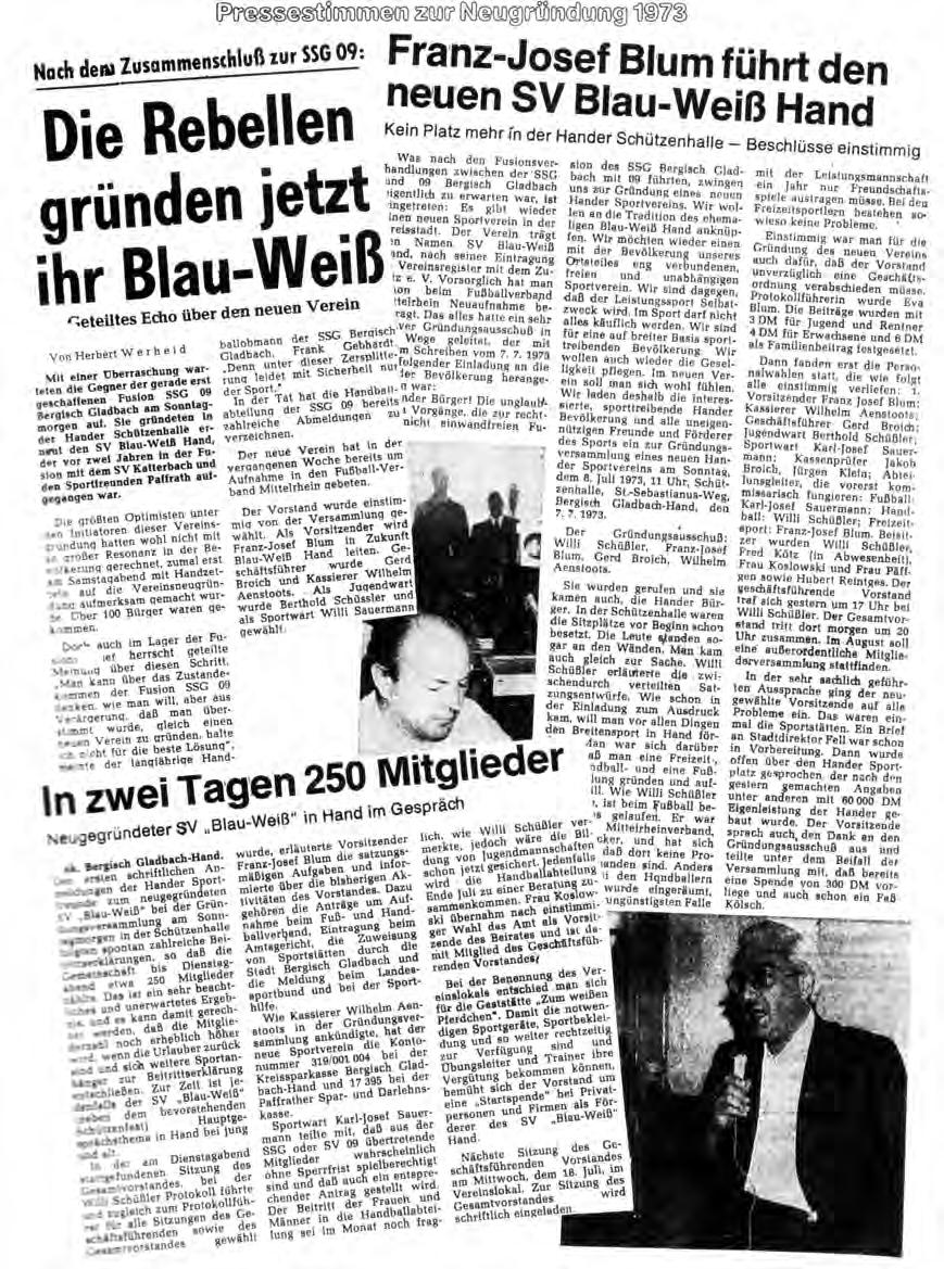 Presse 1973